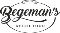 Begemans retro food logo